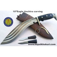 "10""Eagle tinchira carving"